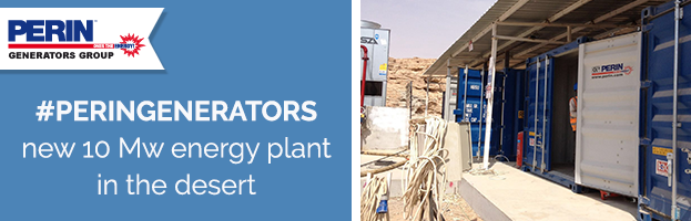 PERINGENERATORS: 10 Mw energy plant in the middle of the desert
