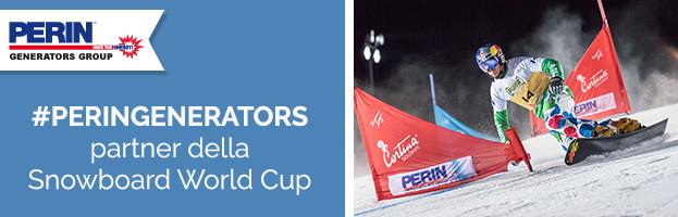 PERINGENERATORS partner della Snowboard World Cup 2017 (Cortina d'Ampezzo)