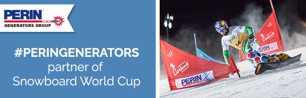 PERINGENERATORS official partner of Snowboard World Cup 2017 (Cortina d'Ampezzo – Italy)
