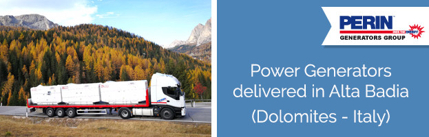 PERINGENERATORS: power generators delivered in Alta Badia (Dolomites – Italy)