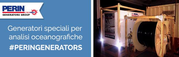 SETTORE MARINO: generatori speciali per analisi oceanografiche