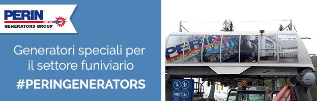 SETTORE FUNIVIARIO: generatori speciali per gli impianti di risalita