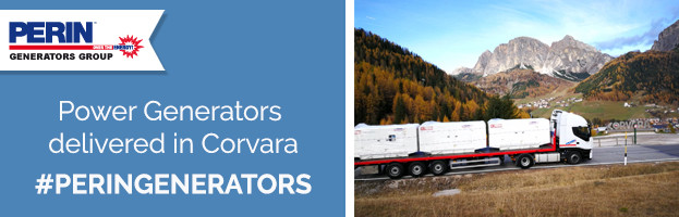 PERINGENERATORS: current generators delivered in Corvara (Dolomites – Italy)