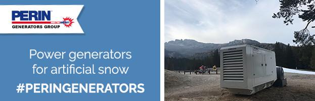 PERINGENERATORS: power generators for artificial snow