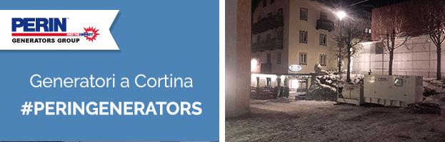 PERINGENERATORS: generatori a Cortina nella neve