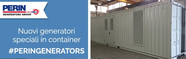 PERINGENERATORS: nuovi generatori speciali con container