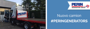 PERINGENERATORS: nuovo camion