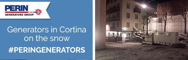 PERINGENERATORS: generators in Cortina on the snow