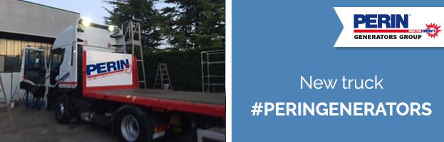 PERINGENERATORS: new truck