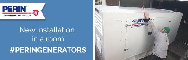PERINGENERATORS: new installation in a room