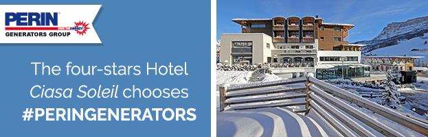 The four-stars Hotel Ciasa Soleil (Alta Badia – Italy) chooses PERINGENERATORS