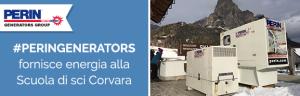 PERINGENERATORS fornisce energia alla Scuola Sci Corvara – Ladinia (Alta Badia)