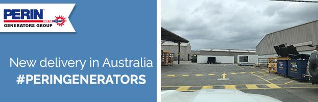 PERINGENERATORS: new delivery in Australia