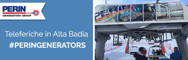 PERINGENERATORS fornisce energia alle teleferiche in Alta Badia