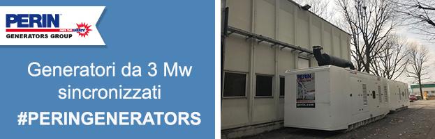 Nuova installazione: generatori sincronizzati da 3 Mw per il più grande produttore di compressori