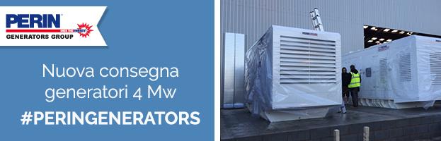 PERINGENERATORS: installazione nuovi generatori da 4 Mw