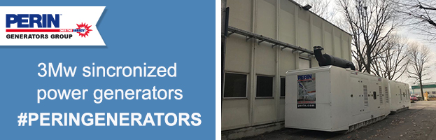 New installation: 3 Mw synchronized power generators for the biggest compressor's manufacturer