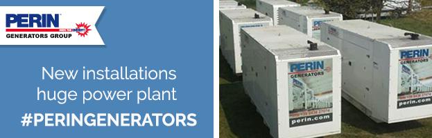 PERINGENERATORS: new installations huge power plant