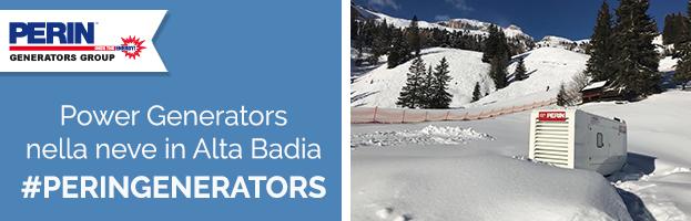 PERINGENERATORS: generatori di corrente nella neve in Alta Badia