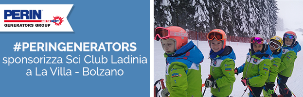 PERINGENERATORS sponsor dello Sci Club Ladina Alta Badia (La Villa – BZ)