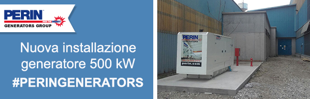PERINGENERATORS: nuovo power generator 500 kW
