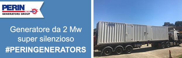 PERINGENERATORS: Generatore da 2 Mw con Super Silent System