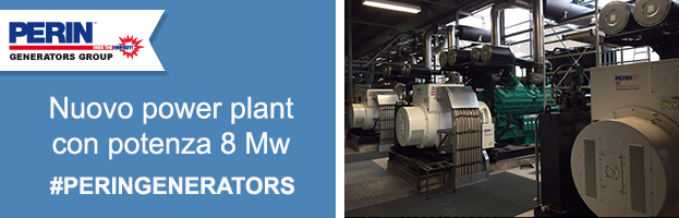 PERINGENERATORS: nuovo power plant da 8 Mw