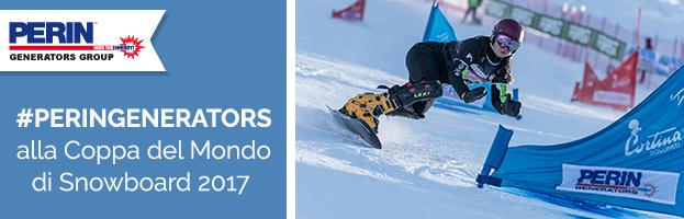 Snowboard World Cup 2017 a Cortina d'Ampezzo: una grande sponsorizzazione!
