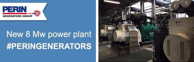 PERINGENERATORS: installation new 8 Mw power plant