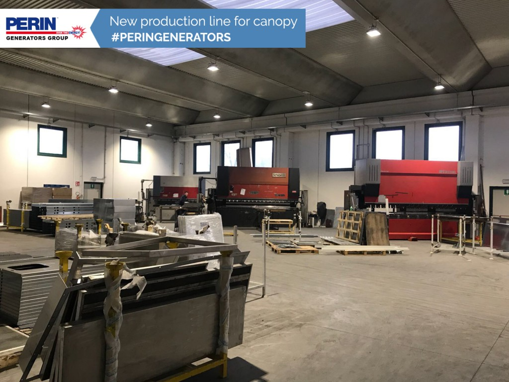 New-production-line-for-canopy-PERINGENERATORS