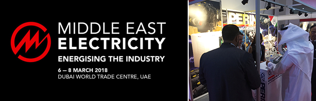 LIVE: PERINGENERATORS at Middle East Electricity 2018 (Dubai, UAE)