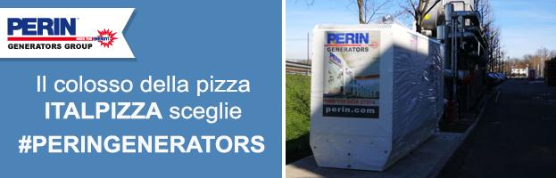 Il colosso delle pizze surgelate ITALPIZZA sceglie PERINGENERATORS