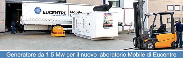 La Fondazione Eucentre sceglie PERINGENERATORS per la nuova Unità Mobile