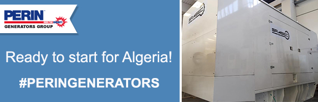 PERINGENERATORS: power generator ready to start for Algeria (Africa)