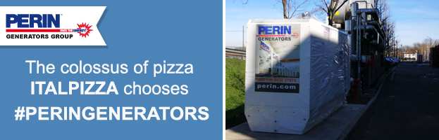 The colossus of frozen pizza ITALPIZZA chooses PERINGENERATORS