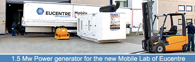 The Eucentre Foundation chooses PERINGENERATORS for the new Mobile Lab