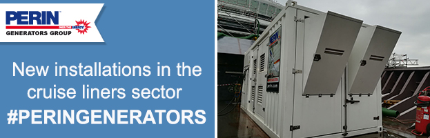 CRUISE liners sector: new installations by PERINGENERATORS