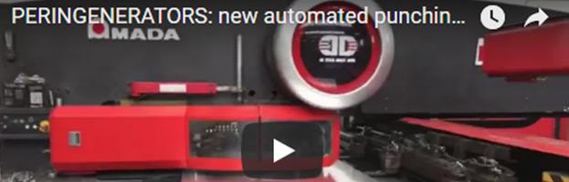 PERINGENERATORS VIDEO: nuovo sistema di punzonatura automatico