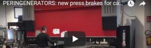 PERINGENERATORS VIDEO: nuove presse piegatrici