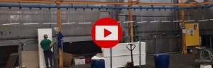 4 NEW VIDEO PERINGENERATORS: nuovo impianto automatico di verniciatura