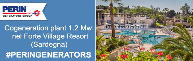 Il lussuoso Forte Village Resort in Sardegna sceglie PERINGENERATORS
