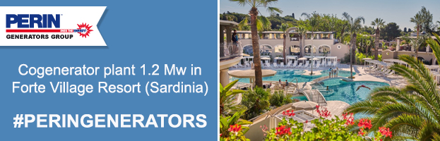 The luxurious Forte Village Resort in Sardinia chooses PERINGENERATORS