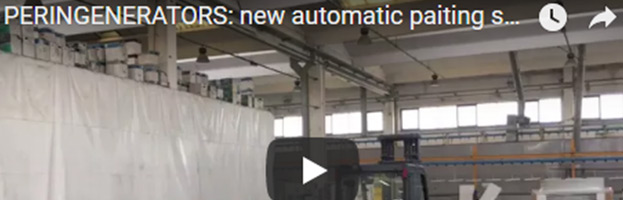 PERINGENERATORS 3 VIDEO: nuovo impianto automatico di verniciatura