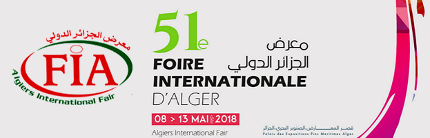 8 – 13 May: PERINGENERATORS at FIA 2018 (Algiers, ALGERIA)