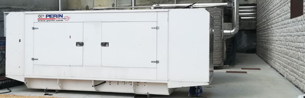 New power generator produced & installed by PERINGENERATORS