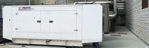 Nuovo generatore di corrente prodotto e installato da PERINGENERATORS