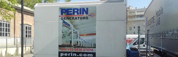 Nuovo generatore di corrente installato da PERINGENERATORS