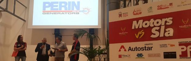PERINGENERATORS alla conferenza stampa di presentazione dell'evento Motors VS SLA