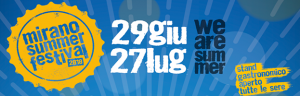 PERINGENERATORS partner ufficiale del MIRANO SUMMER FESTIVAL 2018 (Mirano – Venezia)