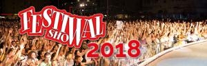 FESTIVAL SHOW 2018: una grande sponsorizzazione